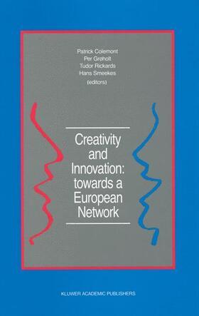 Colemont / Grøholt / Rickards | Creativity and Innovation: towards a European Network | Buch | sack.de