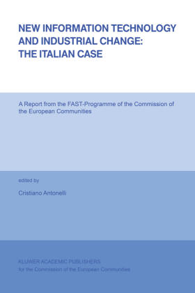 Antonelli | New Information Technology and Industrial Change: The Italian Case | Buch | sack.de