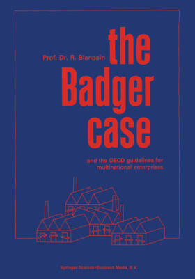 Blanpain | The Badger Case and the OECD Guidelines for Multinational Enterprises | Buch | sack.de