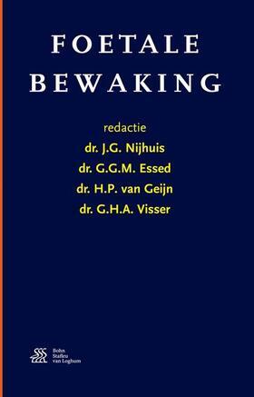 Nijhuis / Essed / van Geijn   Foetale bewaking   Buch   sack.de