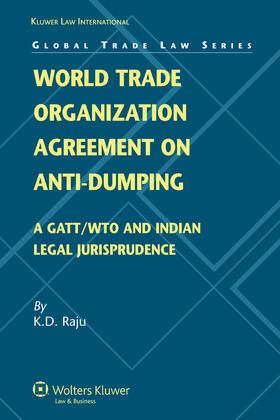 Raju | World Trade Organization Agreement on Anti-dumping | Buch | sack.de