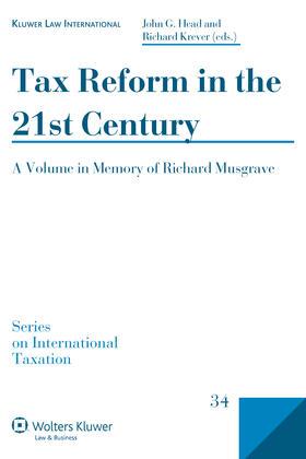 Head / Krever | Tax Reform in the 21st Century | Buch | sack.de