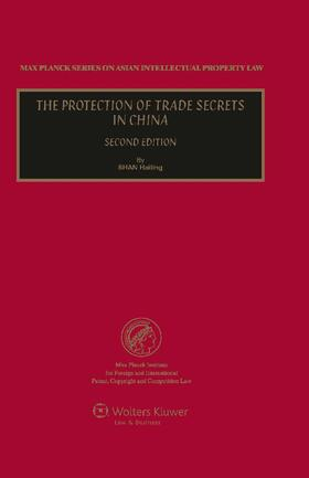 Hailing | The Protection of Trade Secrets in China | Buch | sack.de