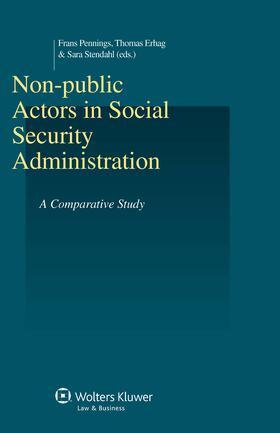 Pennings / Erhag | Non-public Actors in Social Security Administration | Buch | sack.de