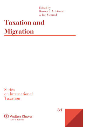 Yonah / Slemrod | Taxation and Migration | Buch | sack.de