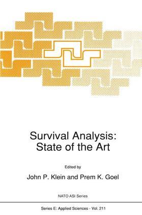 Goel / Klein   Survival Analysis: State of the Art   Buch   sack.de