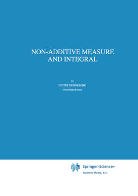Denneberg | Non-Additive Measure and Integral | Buch | sack.de