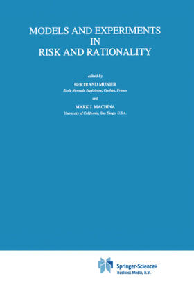 Machina / Munier | Models and Experiments in Risk and Rationality | Buch | sack.de