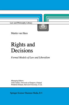van Hees   Rights and Decisions   Buch   sack.de