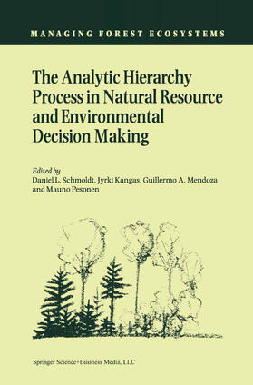 Schmoldt / Pesonen / Mendoza   The Analytic Hierarchy Process in Natural Resource and Environmental Decision Making   Buch   sack.de