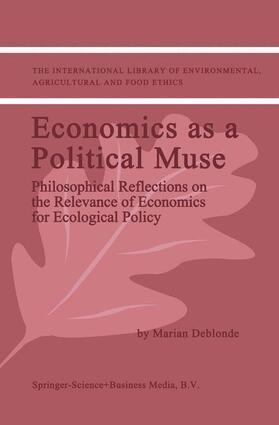 Deblonde | Economics as a Political Muse | Buch | Sack Fachmedien