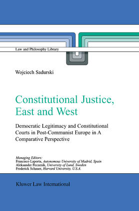Sadurski | Constitutional Justice, East and West | Buch | sack.de