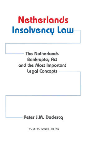 Declerq | Netherlands Insolvency Law:The Netherlands Bankruptcy Act and the Most Important Legal Concepts | Buch | sack.de