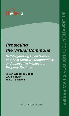 van Wendel de Joode / de Bruijn / van Eeten | Protecting the Virtual Commons | Buch | sack.de