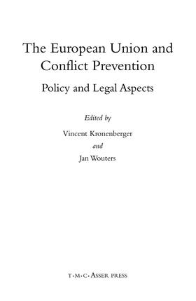 Kronenberger / Wouters | The European Union and Conflict Prevention | Buch | sack.de