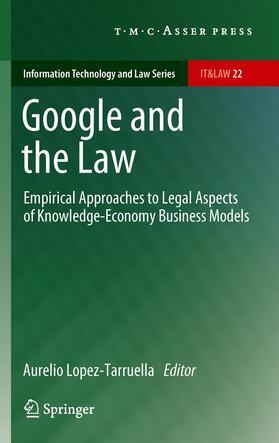 Lopez-Tarruella   Google and the Law   Buch   sack.de