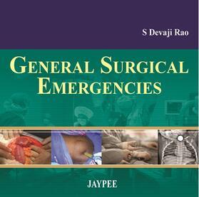 Rao | General Surgical Emergencies | Buch | sack.de