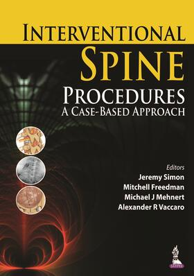 Freedman / Mehnert / Vaccaro | Interventional Spine Procedures | Buch | sack.de