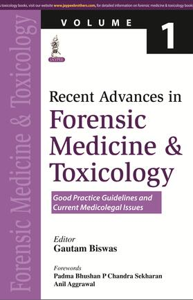 Biswas | Recent Advances in Forensic Medicine and Toxicology Volume 1 | Buch | sack.de