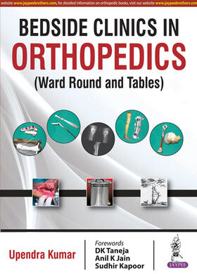 Kumar | Bedside Clinics in Orthopedics | Buch | sack.de