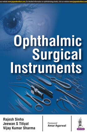 Sinha / Titiyal / Sharma | Ophthalmic Surgical Instruments | Buch | sack.de