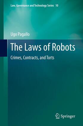 Pagallo | The Laws of Robots | Buch | sack.de