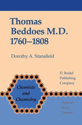 Stansfield   Thomas Beddoes M.D. 1760-1808   Buch   sack.de