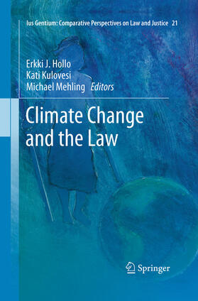 Hollo / Kulovesi / Mehling | Climate Change and the Law | Buch | sack.de