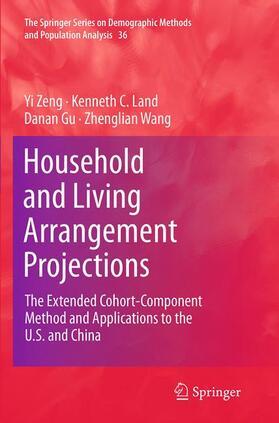 Zeng / Land / Gu | Household and Living Arrangement Projections | Buch | sack.de