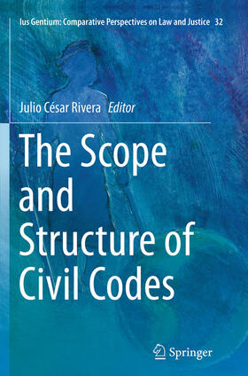 Rivera | The Scope and Structure of Civil Codes | Buch | sack.de