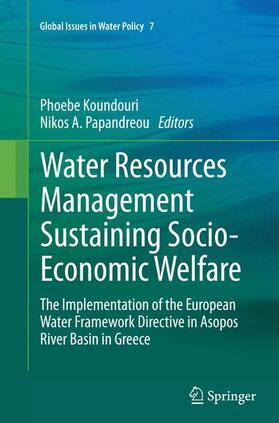 Papandreou / Koundouri | Water Resources Management Sustaining Socio-Economic Welfare | Buch | sack.de