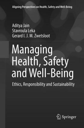 Jain / Leka / Zwetsloot | Managing Health, Safety and Well-Being | Buch | sack.de