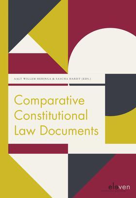 Heringa / Hardt | Comparative Constitutional Law Documents | Buch | sack.de