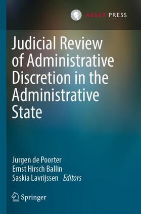de Poorter / Lavrijssen / Hirsch Ballin | Judicial Review of Administrative Discretion in the Administrative State | Buch | sack.de