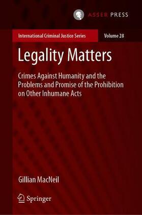 MacNeil | Legality Matters | Buch | sack.de