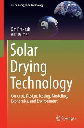 Prakash / Kumar | Solar Drying Technology | Buch | sack.de