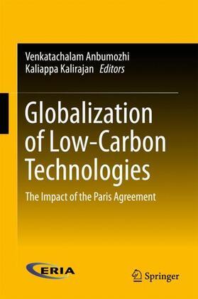 Anbumozhi / Kalirajan | Globalization of Low-Carbon Technologies | Buch | sack.de