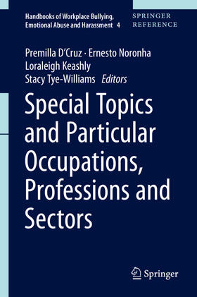 Tye-Williams / Noronha / Keashly | Special Topics and Particular Occupations, Professions and Sectors | Buch | sack.de