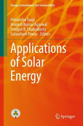 Tyagi / Chakraborty / Powar | Applications of Solar Energy | Buch | sack.de