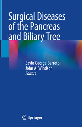 Barreto / Windsor | Surgical Diseases of the Pancreas and Biliary Tree | Buch | sack.de