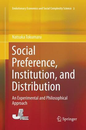 Tokumaru | Social Preference, Institution, and Distribution | Buch | sack.de