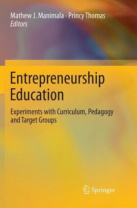 Manimala / Thomas | Entrepreneurship Education | Buch | sack.de