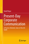 Beger    Present-Day Corporate Communication   Buch    Sack Fachmedien