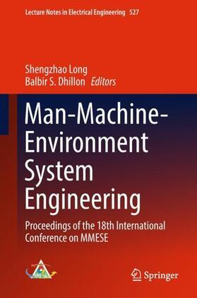 Long / Dhillon   Man-Machine-Environment System Engineering   Buch   sack.de