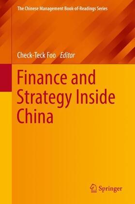 Foo   Finance and Strategy Inside China   Buch   sack.de