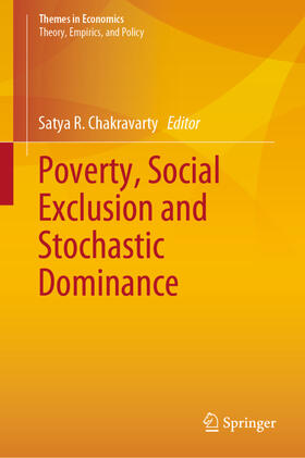Chakravarty | Poverty, Social Exclusion and Stochastic Dominance | Buch | sack.de