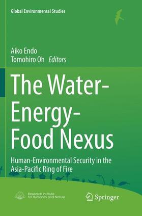 Endo / Oh | The Water-Energy-Food Nexus | Buch | sack.de