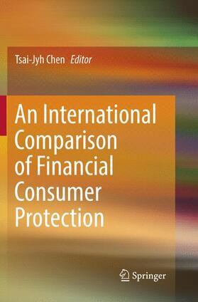 Chen | An International Comparison of Financial Consumer Protection | Buch | sack.de