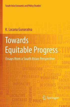 Gunaratna | Towards Equitable Progress | Buch | sack.de