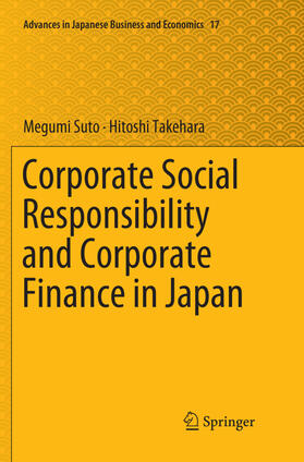 Suto / Takehara   Corporate Social Responsibility and Corporate Finance in Japan   Buch   sack.de